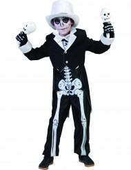 Chique skeletten kostuum voor jongens Halloween