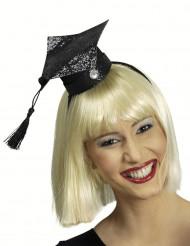 Mini afgestudeerde student hoed voor vrouwen