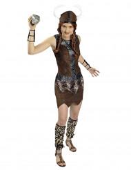 Compleet viking strijder kostuum voor vrouwen