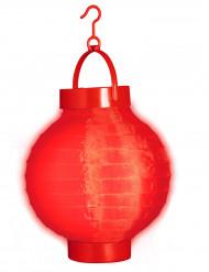Rode lichte lantaarn 15 cm