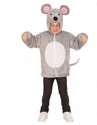 Vest met capuchon muis voor kinderen