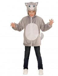 Vest met capuchon kat voor kinderen