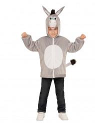Vest met capuchon ezel voor kinderen