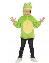Vest met capuchon kikker voor kinderen