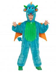 Blauwe draak kostuum voor kinderen