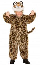 Pluche luipaard pak voor kinderen