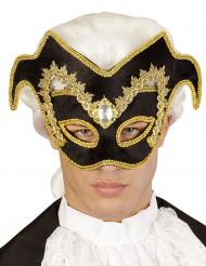 Barok Venetiaans halfmasker voor volwassenen