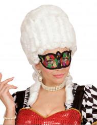 Meerkleurig masker met glitters voor vrouwen