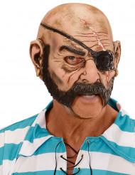 Boekanier piratenmasker voor volwassenen