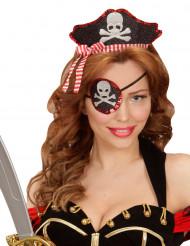 Sexy piraten haarband en ooglapje