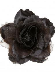 Zwarte roos voor haren vrouwen