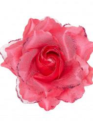 Fuchsia roos voor haren voor vrouwen