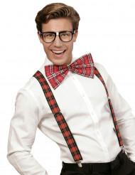 Schotse nerd set voor volwassenen