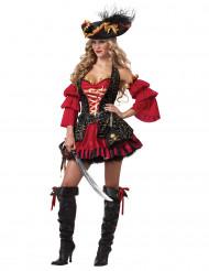 Deluxe sexy piraten outfit voor vrouwen