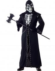 Enge skelet kostuum voor volwassenen Halloween