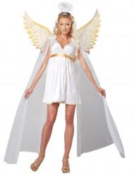 Lumineus Engel kostuum voor dames