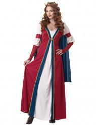 Renaissance koningin kostuum voor dames