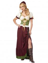Renaissance boerinnen kostuum