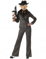 Gangster kostuum voor vrouwen