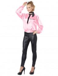 Roze 50's kostuum voor dames