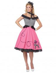Retro jaren 50 kostuum voor vrouwen