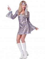 Sensatie Disco kostuum voor vrouwen