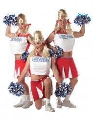 Humoristisch cheerleader kostuum voor volwassenen