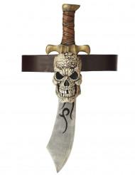 Piratenzwaard met schedel schede