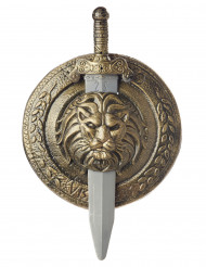 Gladiator schild en zwaard