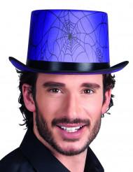 Paarse Halloween hoge hoed voor volwassenen