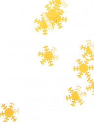 Goudkleurige sneeuwvlokken 45 gr