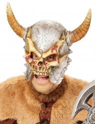 Integraal masker vikingskelet voor volwassenen