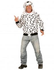 Dalmatiër vest met capuchon voor volwassenen