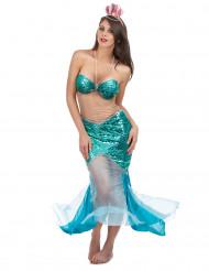 Sexy zeemeermin kostuum voor vrouwen
