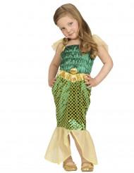 Groen zeemeermin kostuum voor baby
