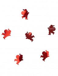 Rode kerstman tafelconfetti 10 gr