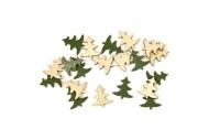Dennenboom confetti zakje 10 gr Kerstmis