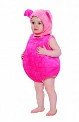 Baby kostuum met pluche muts Knorretje™