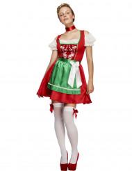 Beiers serveerster kostuum voor vrouwen