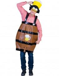Grappig bierton kostuum voor volwassenen