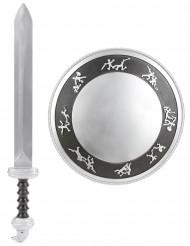 Gladiatorset schild en zwaard voor kinderen