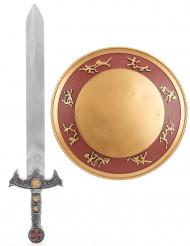 Gladiatorset met zwaard en schild voor kinderen