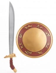 Gladiator schild en zwaard voor kinderen