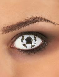 Voetbal contactlenzen voor volwassenen