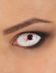 Contactlenzen van bebloede ogen voor volwassen Halloween