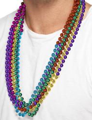 6 multikleurige kettingen voor volwassenen