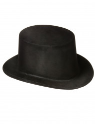 Zwarte hoed voor volwassenen