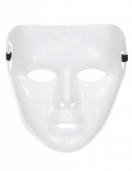 Wit glimmend masker voor volwassenen