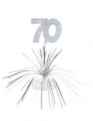 Tafeldecoratie 70 jaar