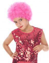 Roze discopruik voor kinderen